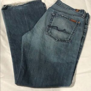 7 For All Mankind Jeans - Medium Wash
